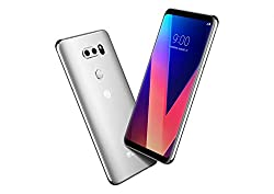 Image of the product LG V30 Silver for Verizon that is listed on the catalogue brand of LG.