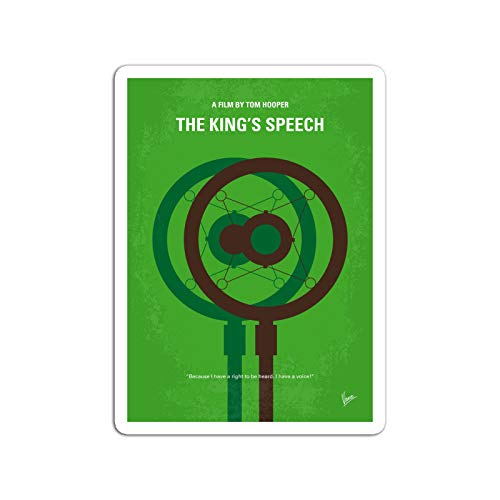 BreathNenStore Sticker Motion Picture No587 My The Kings Speech Minimal Movie The STO Movies Video Film (3