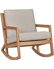 "Stone & Beam Modern Hardwood Rocking Chair, 24.5"" W"
