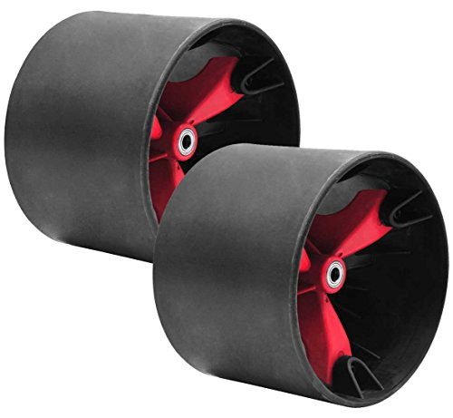 (Triad 49'er Wheel Set, Black/Red, 15mm)