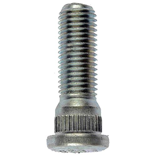 (Dorman Pik-A-Nut M12-1.5 Serrated Wheel Stud, 14.20mm Knurl, 40mm Length, Bagged (98485.1))