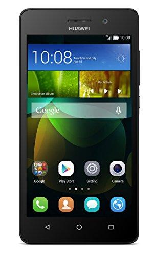 Huawei G Play Mini Smartphone (12,7 cm (5 Zoll) IPS-Display, Octa-Core-Prozessor, 13 Megapixel-Kamera, 8 GB interner Speicher, Dual-SIM, Android 4.4) schwarz