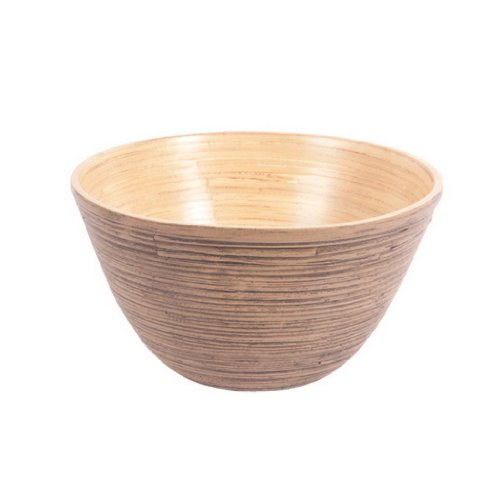 Ian Snow Spun Bamboo Bowl, Light Cocoa ()