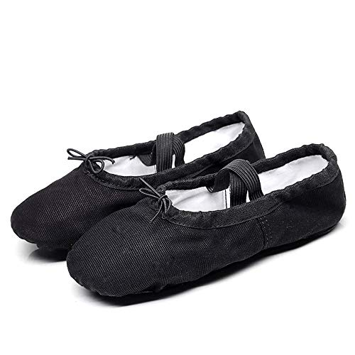 Chaussures 34 Danse Cuir Ruanyi Yoga Bas Chat En Eu Fille Pour Ballet Femmes Antidérapant Griffe 5 color Toile Size De UdFEwFq