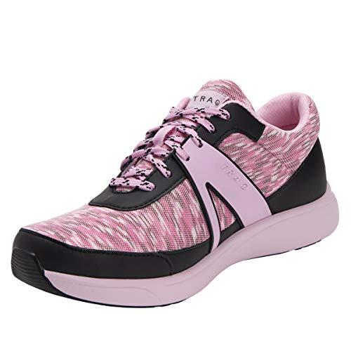 TRAQ BY ALEGRIA Qarma Womens Smart Walking Shoe Horizons Pink 39 EU