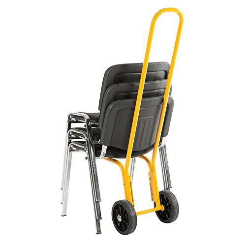 75 kg Stuhltransportkarre Stuhlkarre Traglast