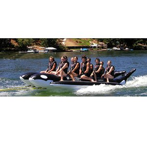 Island Hopper 10 - Passenger Elite Class Side by Side Heavy Commercial Whale Ride Banana Boat Water Sled