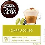 NESCAFÉ Dolce Gusto | Capsulas de Café Cappuccino | Pack de 3 x 16 Cápsulas - Total: 48 Cápsulas