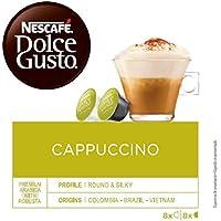NESCAFÉ Dolce Gusto Café Cappuccino | Pack de 3 x 16 Cápsulas - Total: 48 Cápsulas de café
