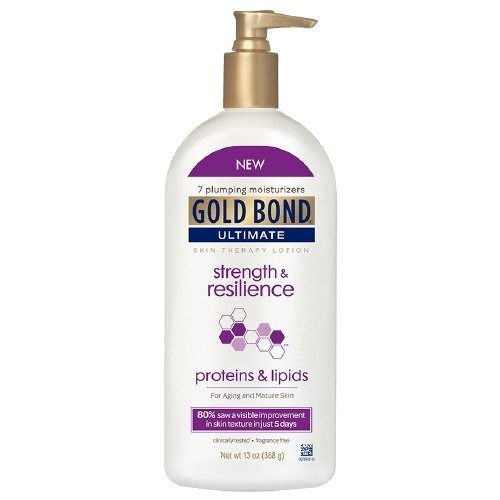 Gold Bond Ultimate Skin Therapy Lotion, Strength & Resilience 13 oz Pack of 2 ()