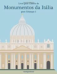 Livro para Colorir de Monumentos da Itália para Crianças 1