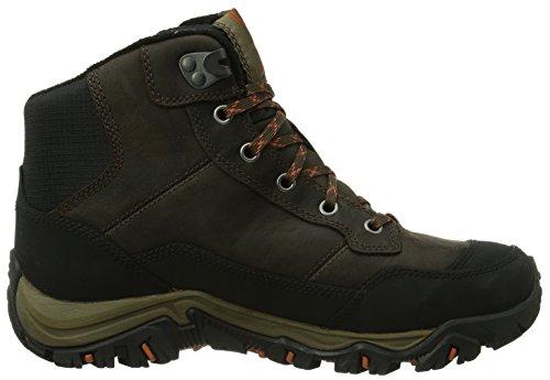 Merrell POLARAND ROVE WTPF Herren Trekking & Wanderstiefel, Braun (BLACK SLATE), 41.5 EU
