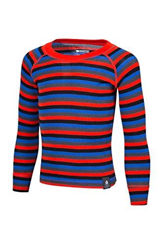 mountain-warehouse-merino-kids-stripe-round-neck-top-orange-3-4-years