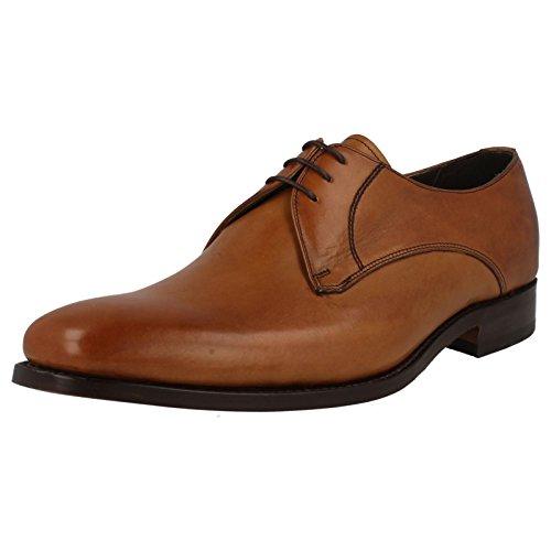 Barker , Herren Schnürhalbschuhe Conker Brown (Brown)
