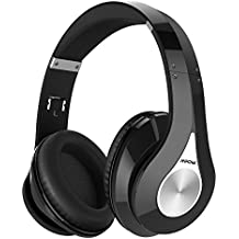 Mpow 059 Bluetooth Headphones Over Ear, Hi-Fi Stereo Wireless Headset, Foldable, Soft Memory-Protein Earmuffs, w/ Built-in Mic and Wired Mode for PC/ Cell Phones/ TV
