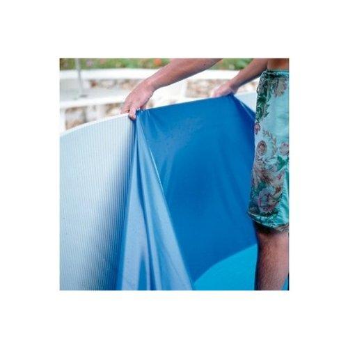 GRE - Liner color azul unicolor 30/100 piscina circular: Amazon.es: Jardín