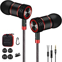 écouteurs, écouteurs Intra auriculaire, écouteurs filaires, Ecouteurs Stéréo Anti-Bruit Il Convient au Micro de Huawei,...