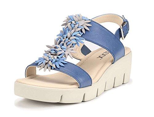 16 Sandale Denim Femme The Flexx B305 Bleu xqFwnOpE