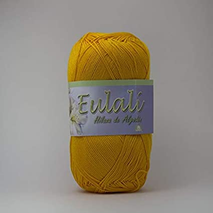 4d4c0f718c59 Amazon.com  EULALI Yarn Hilo Crochet Knitting (Mango) Eulalí Yarn ...