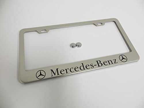 mercedes benz frame license plate - 3