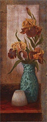 (Spiced Jewels II - mini by Linda Wacaster Laminated Art Print, 8 x 20 inches)