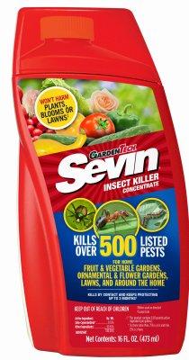 Sevin 100530122 Insect Killer Concentrate, Kills Over 500 Pests, (Sevin Concentrate Bug Killer)
