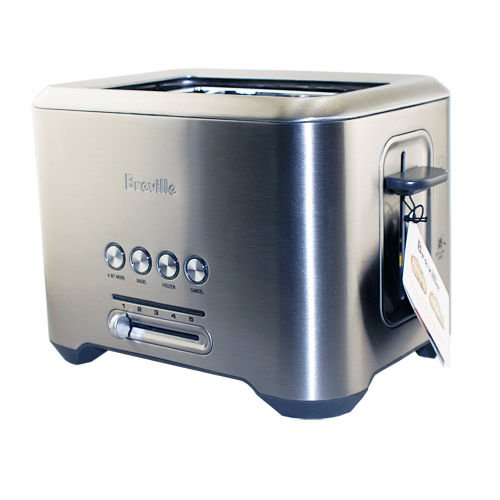 Breville BTA720XL 2-Slice Toaster Stainless Steel Kitchen To