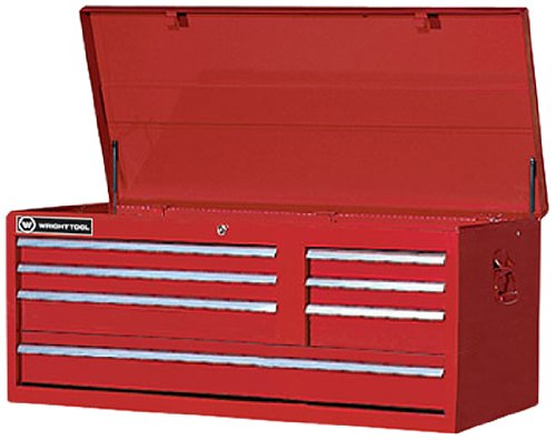 Wright Tool WT877 41-Inch 7-Drive Chest, 40-1/2-Inch W x 20-1/2-Inch H x 17-7/8-Inch D, Red
