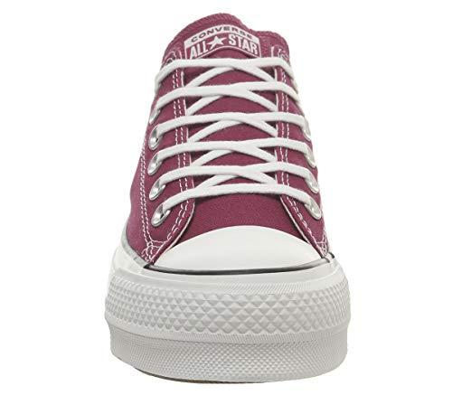 garnet Ctas navy Sneaker Damen White Rot Ox Lift Converse w7RXqF5