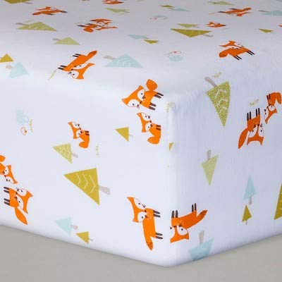 Circo Woven Woodland Fitted Crib Sheet