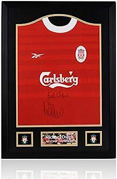 Camiseta de Michael Owen con Marco clásico de Liverpool ...