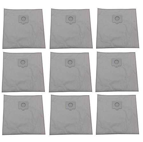 Vacuum Cleaner Bags (9) Type C Q Bags for Kenmore Vacuum 5055, 50558, 50557, HEPA Cloth Canister