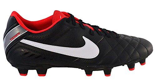 Iv Calcio Tiempo Ltr Uomo Scarpe white Fg Sportive Black Nike chal Natural 7aE07w