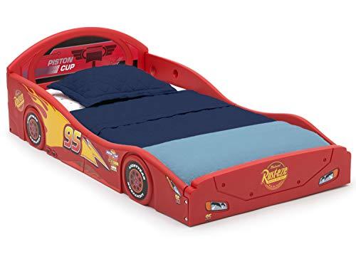 Disney Pixar Cars Lightning McQueen Race Car Sleep and Play