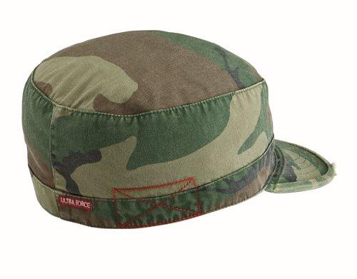 ee2840746f4 Amazon.com  Vintage Camo Fatigue Cap (XS)  Military Apparel ...