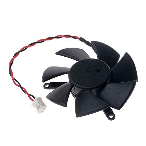 DF0501012SEE2C Graphics Card Fan 47mm DC 12V 0.05A 2-Pin Cooling Fan for X1300 HD4650 HD3650 by Allpartz (Image #4)