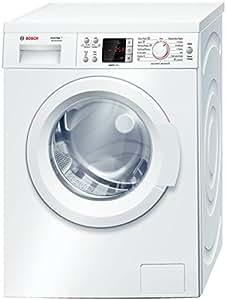 Bosch WAQ2447PEE Independiente Carga frontal 7kg 1200RPM A+ Color blanco - Lavadora (Independiente, Carga frontal, A+, A, B, Color blanco)