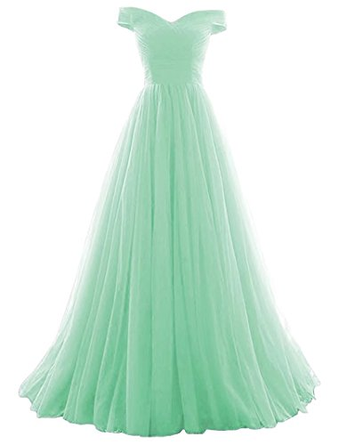 Tulle Ball Homecoming Mint line Formal Gown Women's Dress VKBRIDAL Evening A Prom x7tqT