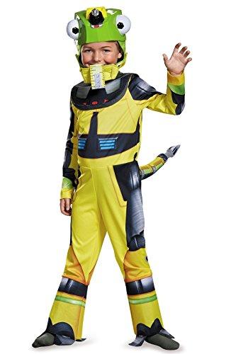 D'halloween Costume (Revvit Deluxe Dinotrux Dreamworks Costume,)
