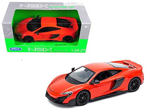 Welly McLaren 675LT Coupe Red 1/24-1/27 Diecast Model Car