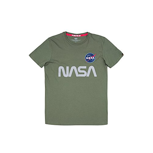 Olive T Alpha T Nasa Reflective Industries Dark shirt yb76gfY