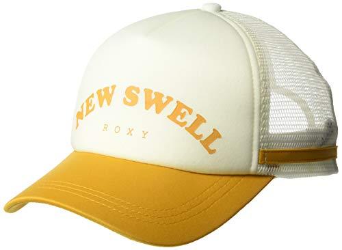(Roxy Women's Dig This Trucker Hat, inca gold 1SZ)