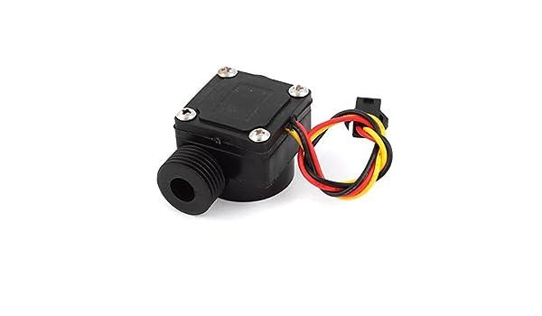 Interruptor del Sensor de flujo eDealMax 0.5-30L / minuto DC 12V Calentador de agua Caudalímetro Contador: Amazon.com: Industrial & Scientific