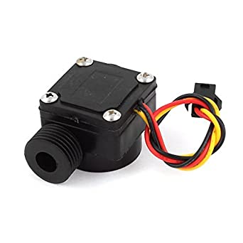 Interruptor del Sensor de flujo eDealMax 0.5-30L / minuto DC 12V Calentador de agua