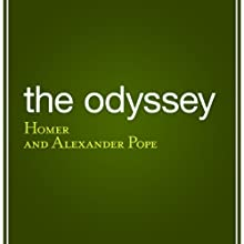 The Odyssey Audiobook by  Homer, Alexander Pope - translator Narrated by Bernard Clark