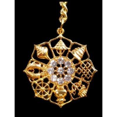 Auspicious Objects Amulet Keychain Betterdecor product image