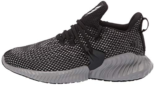 Adidas Kids Alphabounce Instinct, Black/White/Grey, 1 M US Little Kid by adidas (Image #5)