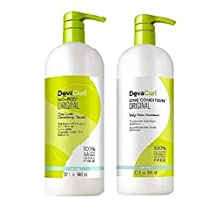 Devacurl No-poo Cleanser & One Condition Duo-32 Oz by DevaCurl