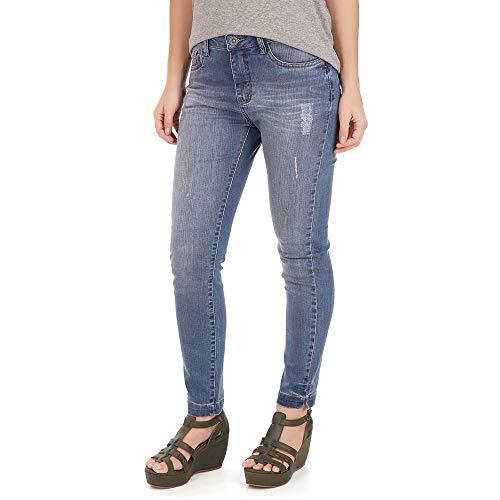 Calça Jeans Cigarrete - Azul Jeans - Tamanho 40