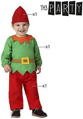 Atosa-32204 Atosa-32204-Disfraz Duende niño bebé-Talla Navidad ...